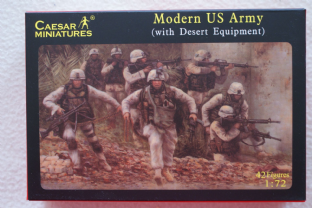 Caesar Miniatures 1/72 CMH030 US Army with Desert Equipment (Modern)